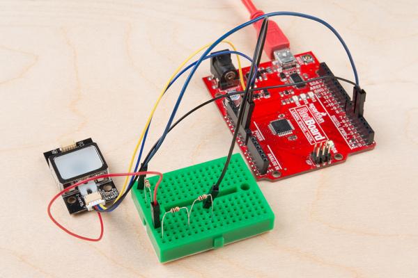 Fingerprint Scanner - voltage division - Arduino