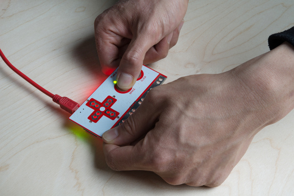 Pressing a Key on the Makey Makey with Fingers