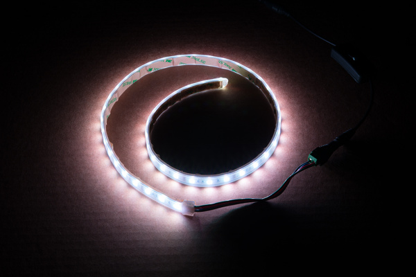 Testing LED Strip with Wiring