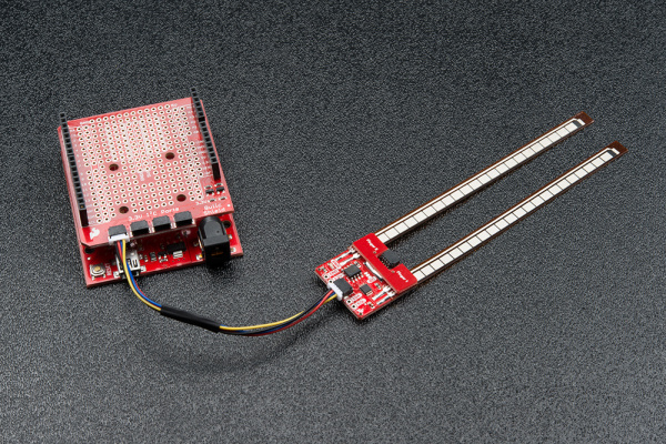 Connected Flex Sensor