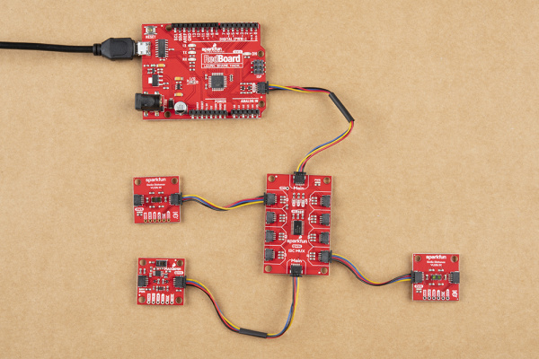 Dasiy chain Arduino
