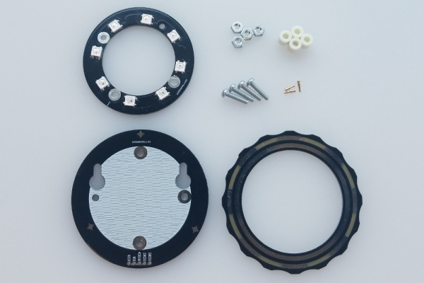 top down shot of all kit components as described above