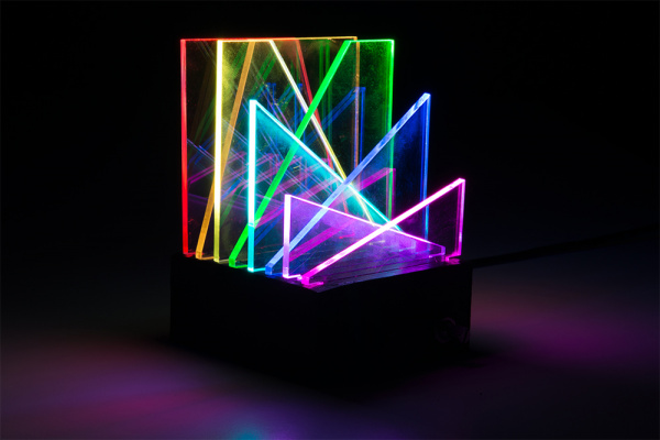 final light sculpture