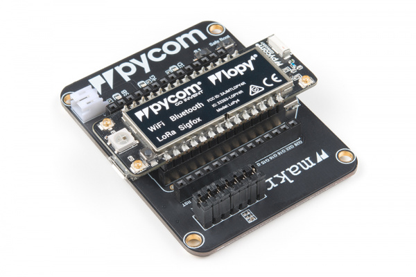 Pycom LoPy4 on an Expansion Board 3.0