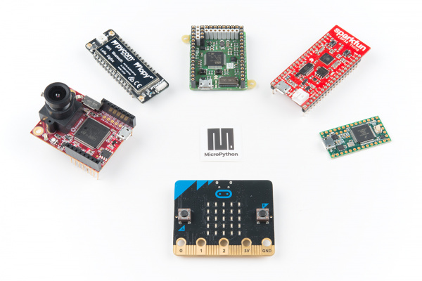 Boards that run MicroPython