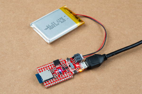 Charging a LiPo battery