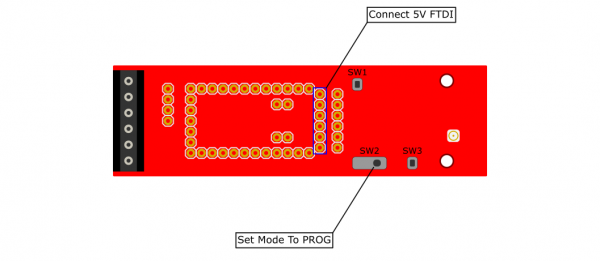 Programming the Inserted CAN485 Module