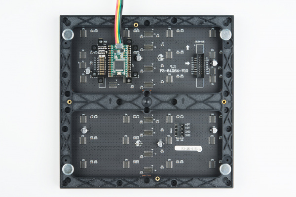 Teensy 3.2, SmartLED Shield, and Panel