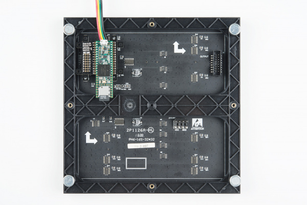 Teensy 3.6, SmartLED Shield, and Panel