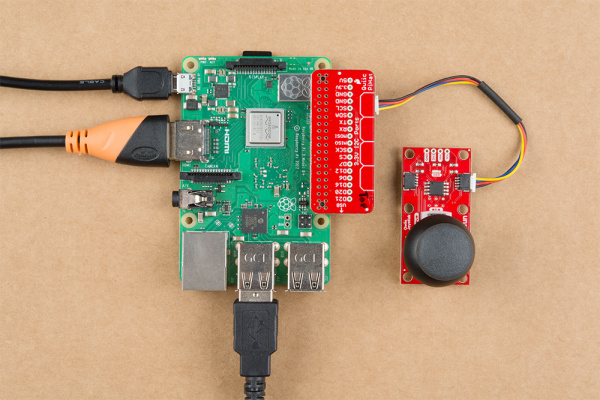 Hardware assembly with Raspberry Pi with Qwiic Hat