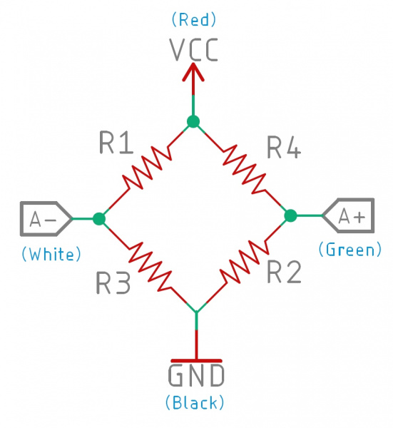 Image of a wheatstone bridge