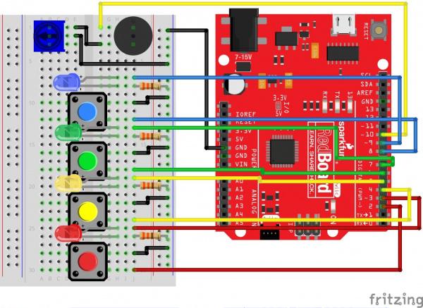 Circuit 2C Fritzing