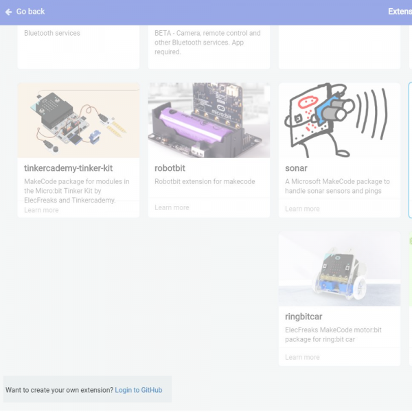 How to Create a MakeCode Package for Micro:Bit - learn sparkfun com