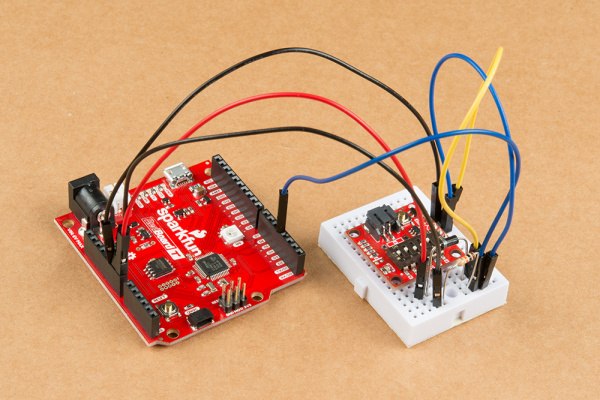 TPL connected to RedBoard Turbo  with Schottky diode and pull-down resistor