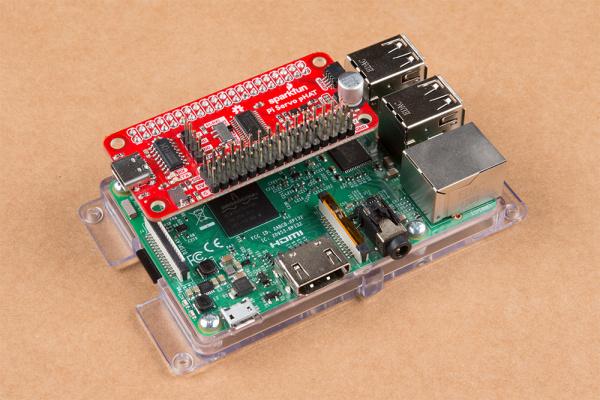 Pi Servo pHAT on Raspberry Pi 3