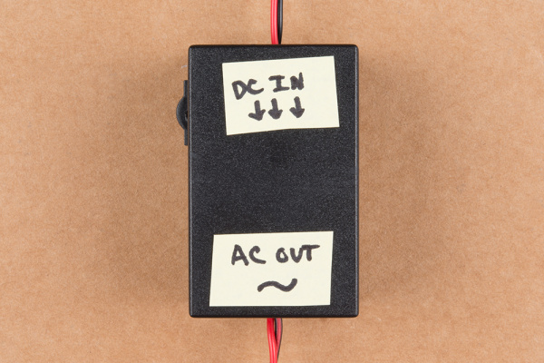 Labeled Input and OUtput