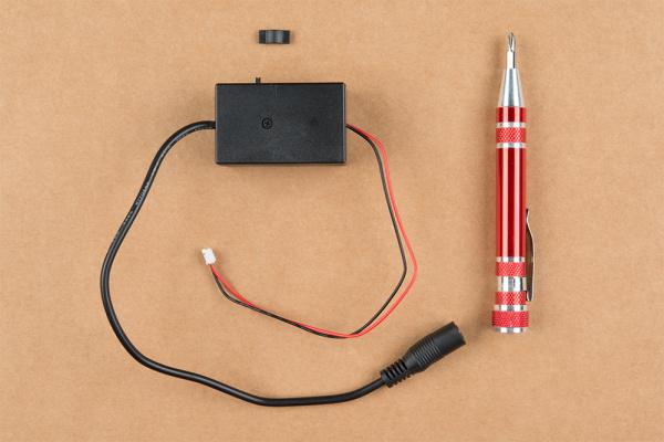 12V Inverter and Screwdriver