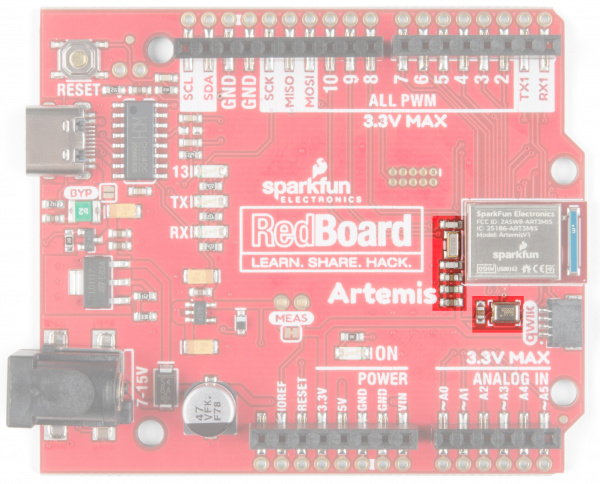 PDM Microphone and RTC on RedBoard Artemis