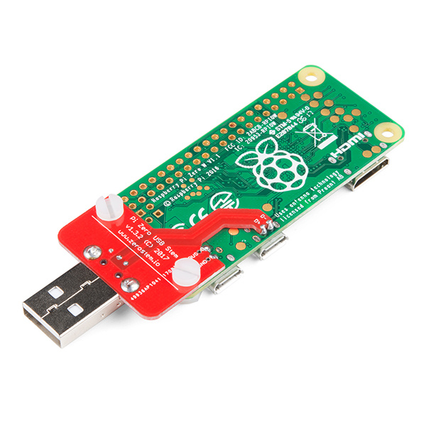 Raspberry Pi with Pi Wedge to breakout pins.