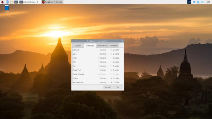 Enabling SPI via Desktop GUI